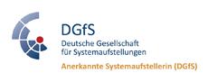 Zertifikat für anerkannte Systemaufstellerin der Deutschen Gesellschaft für Sprachwissenschaft (DGfS)